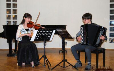 KONCERT TINA ČEH IN TJAŠA ČERIČ, dvorana šole, 13.4.2013