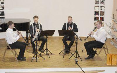 4. ABONMAJSKI KONCERT Koncert – kvartet klarinetov CLARITET, dvorana šole v četrtek 12.1.2017, ob 18.30