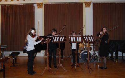 REVIJA GŠ ŠTAJERSKE, KOROŠKE IN POMURJA, dvorana Konservatorija za glasbo in balet v Mariboru, 17.1.2014, ob 18. uri