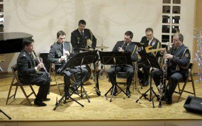 4. ABONMAJSKI KONCERT – Kvartet klarinetov orkestra Slovenske vojske, 14.1.2016, dvorana šole ob 18.30