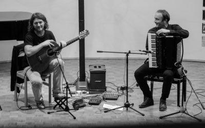 1. ABONMAJSKI KONCERT, Andrej Ofak kitara, Borut Mori harmonika, dvorana šole 26. 10. 2017, ob 18.30