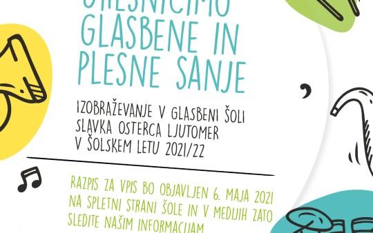 VABILO K IZOBRAŽEVANJU V ŠOLSKEM LETU 2021/22